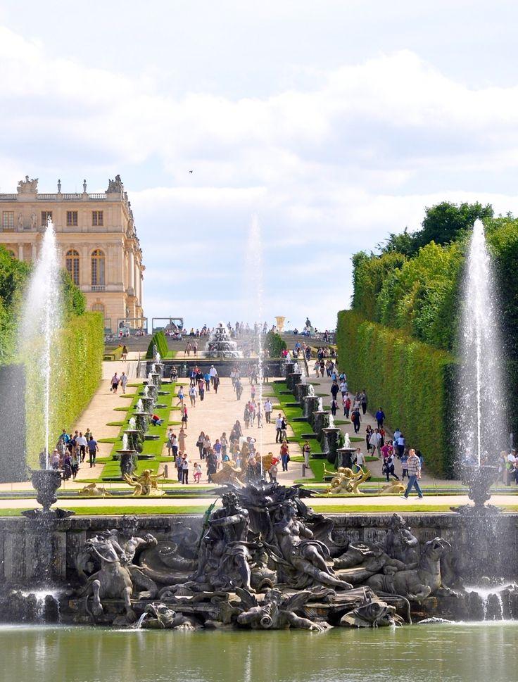 Versailles: le Bassin de Neptune