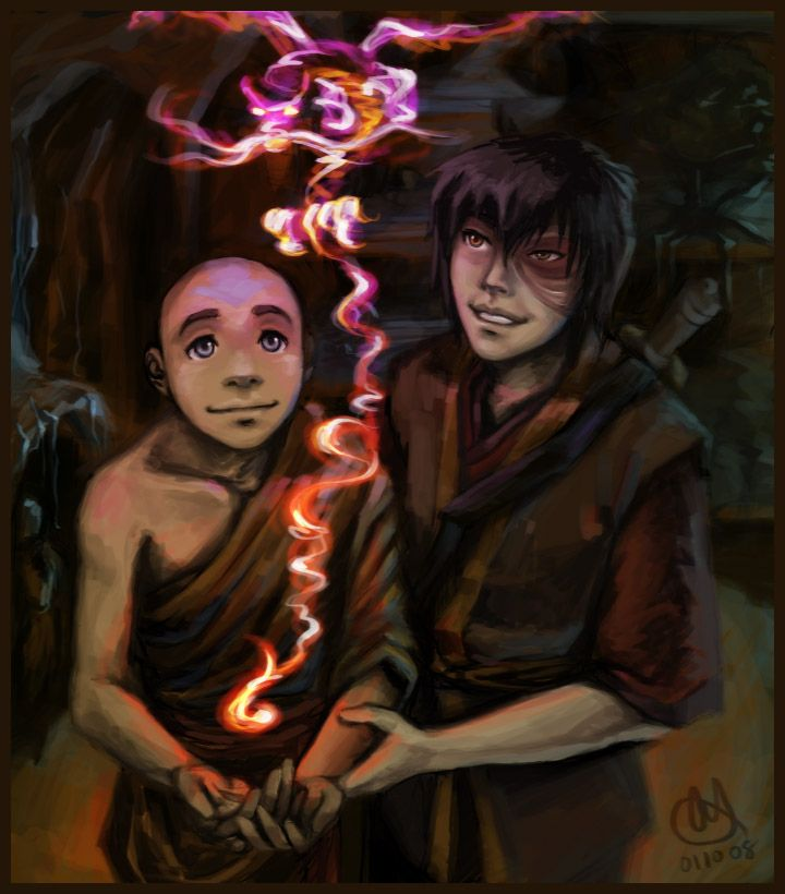 117 Best Images About Aang + Zuko On Pinterest
