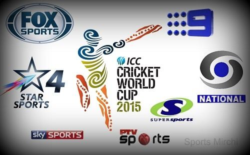 Looking for broadcasters, television networks who'll telecast live cricket matches of 2015 world cup knockout stage? Then find list of channels & networks.