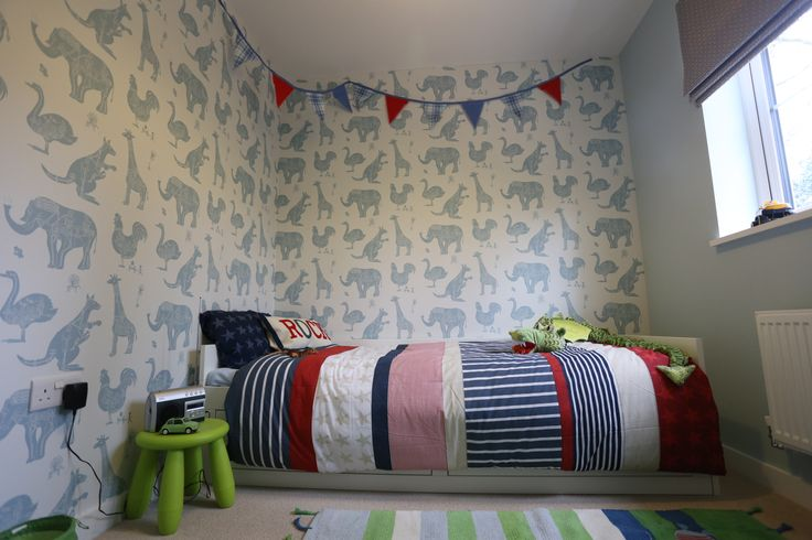 Little Boy's room using @PaperBoy Interiors  - the brief was to be fun but have longevity... www.saltinteriors.co.uk
