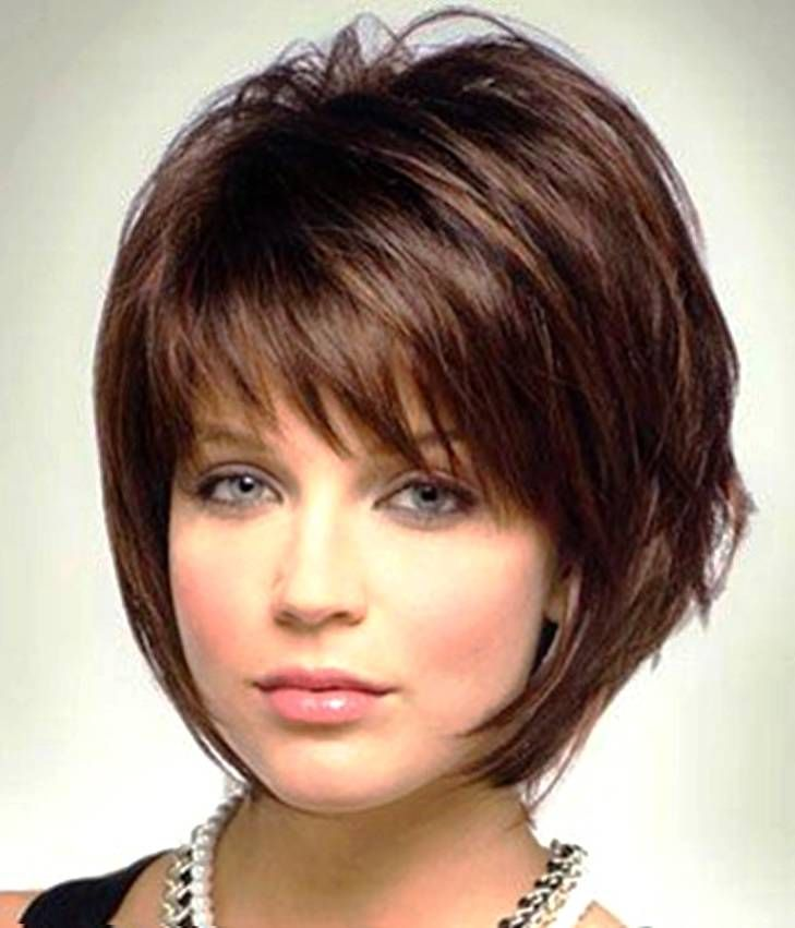 Fabulous 1000 Ideas About Layered Bob Bangs On Pinterest Bob Bangs Hairstyle Inspiration Daily Dogsangcom