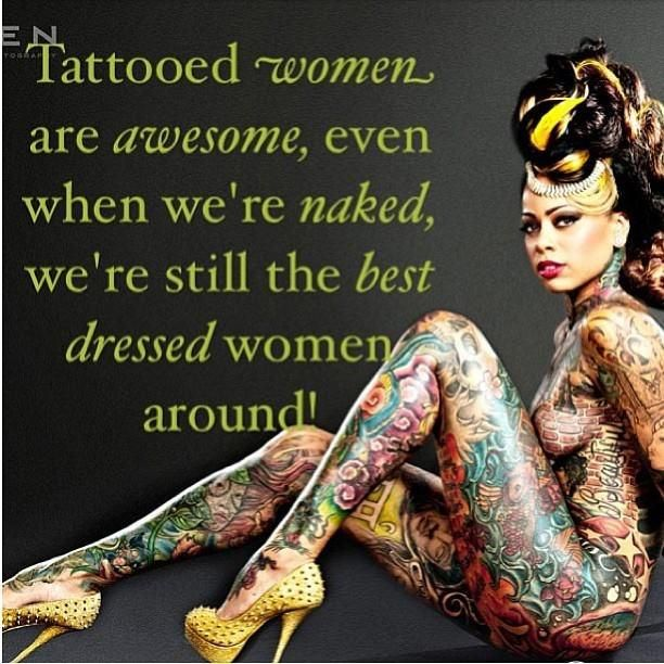 from Harry sexy naked tattooed women