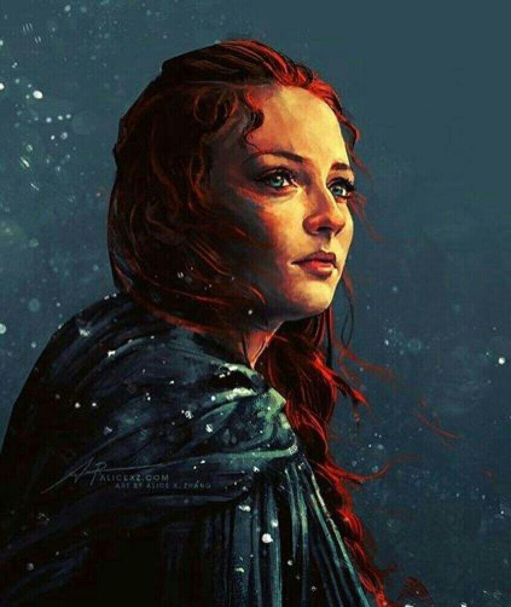 Lady Stark. So beautiful... #SansaStark #Stark #GoT