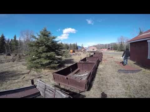 Nordegg abandoned mine Alberta Canada 2