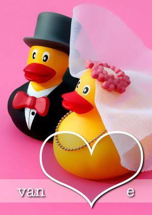 Design Marriage Congratulations/ Felicitatie Huwelijk by OTTI www.kaartje2go.nl