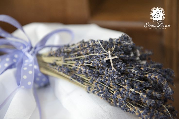 Christening details by Eleni Dona
