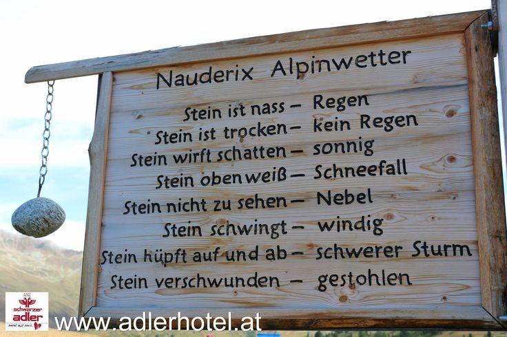 Nauderix Alpinwetter