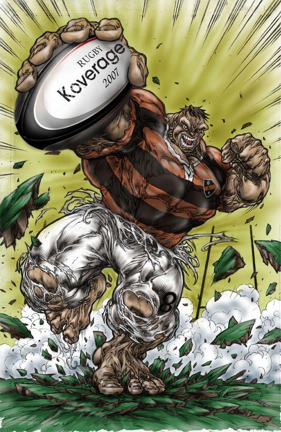 Rugby Dibujo Olivos