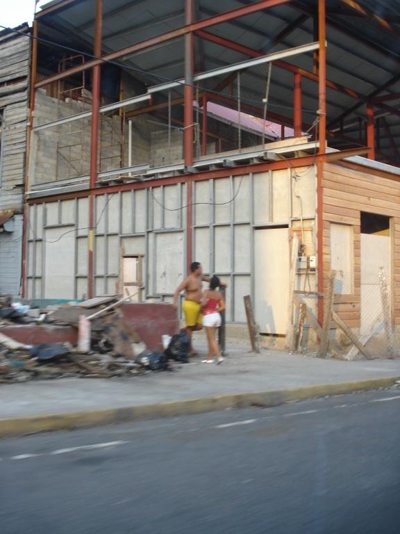 Panama City, Panama...restoring the old