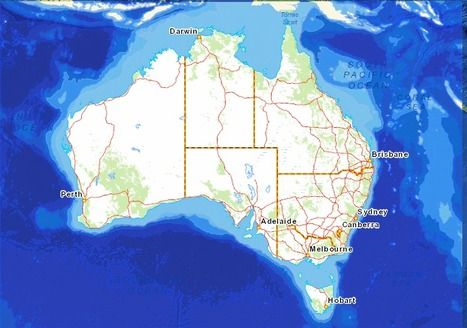 Interactive Maps | The Australian Continent - Stage 2 Geography | Scoop.it