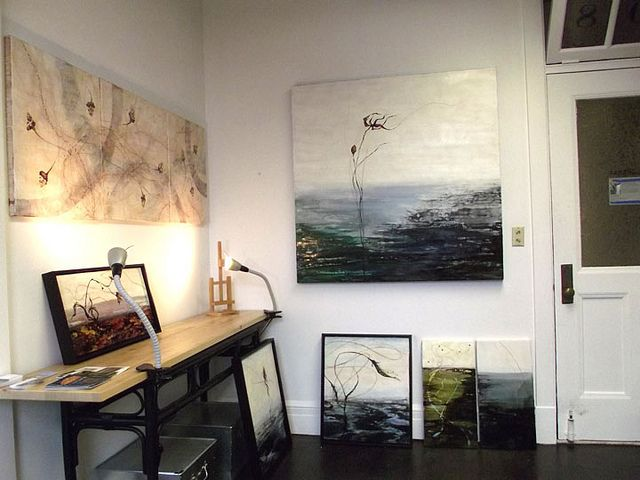 alice tormey encaustic studioWorkspaces