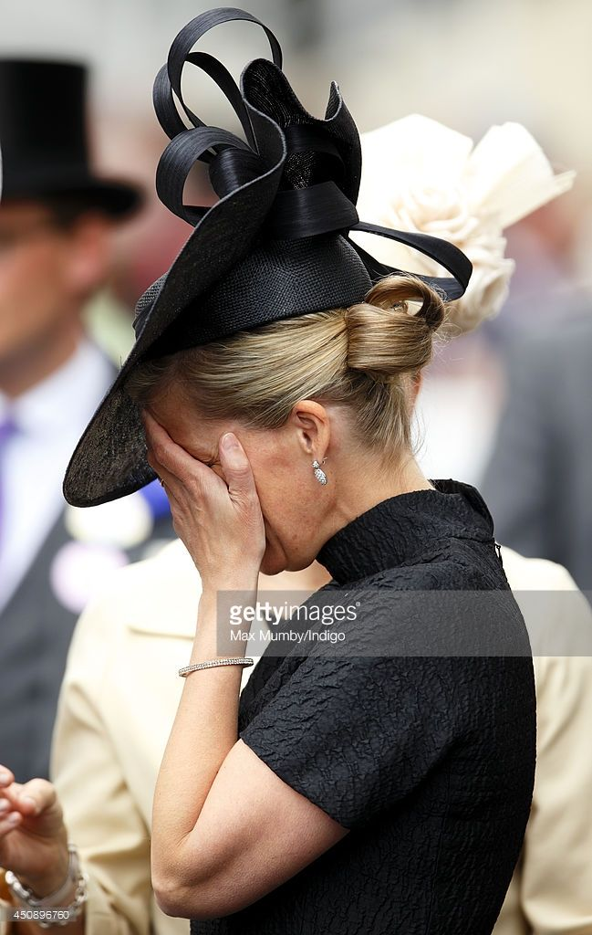 (EMBARGOED FOR PUBLICATION IN UK NEWSPAPERS UNTIL 48 HOURS AFTER CREATE DATE AND TIME) Sophie, Countess of Wessex attends Day 3, Ladies Day, of Royal Ascot at Ascot Racecourse on June 19, 2014 in Ascot, England. (Photo by Max Mumby/Indigo/Getty Images)