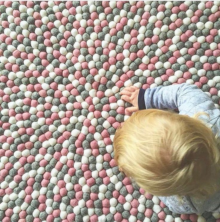 TEXTURE LOVE Did you know kids love our rugs not only because of the colours but also because of their totally touchable texture! They make the perfect play mat and if your babe is still a bit wobbly on the whole sitting thing our rugs will provide a soft landing for any tumbles! This one is our Marble Blush and she's a beauty!! Shop now and get a FREE matching garland and FREE shipping WORLDWIDE! . #feltballs #feltballrug #pompomrug #marbleblush #toddler #babyrug #playmat #soft #nursery…