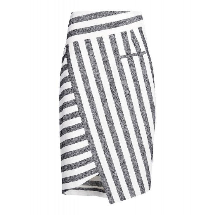 Altuzarra Palazzo Striped Skirt