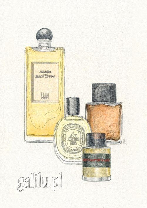 Perfume Bottles for GALILU, by AROBAL, 2014
