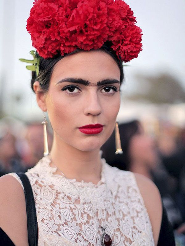 Fantasia Frida Kahlo para o Carnaval