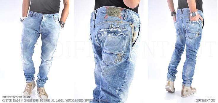 ✂ Different Cut Jeans / 100% handmade in Different Cut studio, Bucharest, Romania, EU