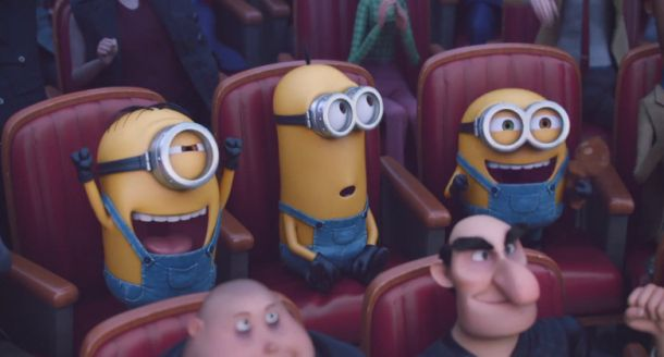 You absolutely have to watch the hilarious new 'Minions' trailer right now click here:  http://infobucketapps.com