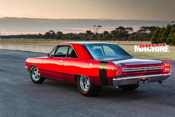 "chromencurves: "" Blown 440-Powered Dodge Dart Converted VF Valiant Photos by Chris Thorogood for Street Machine Magazine """