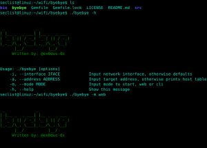 byebye is a penetration testing tool that enables an attacker to deauthenticate users off of their local area network. It relieson sending malformed ARP packets, resulting in an ARP spoof attack.