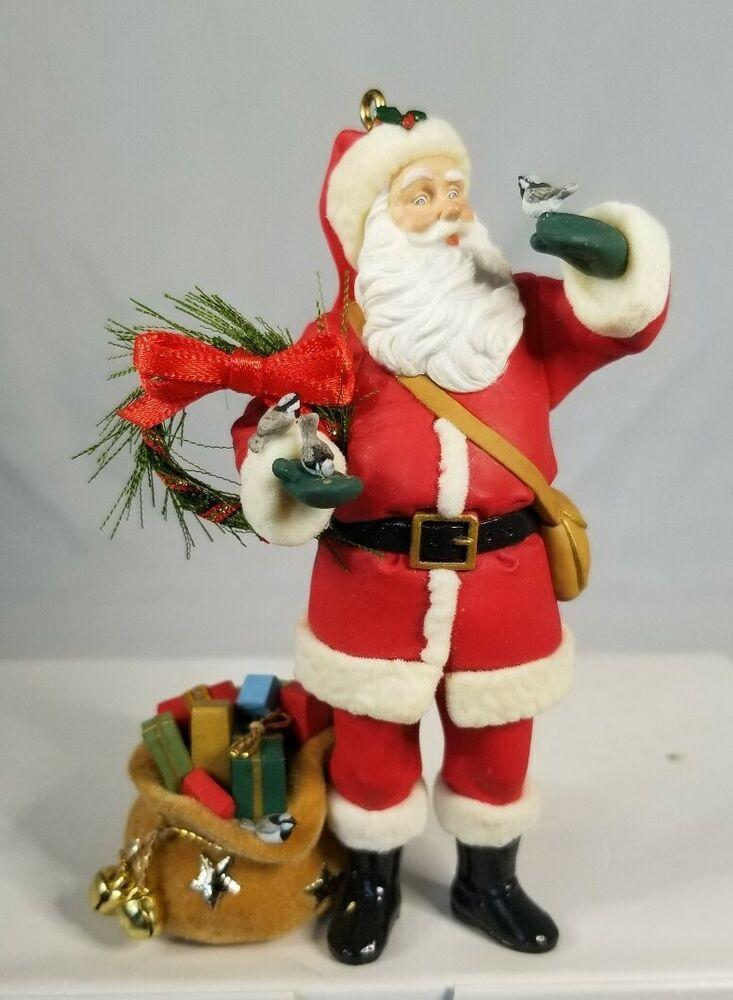 Hallmark Keepsake Santa S Visit Christmas Ornament Club Exclusive No Box 2007 15012982473 Ebay In 2020 Christmas Ornaments Hallmark Christmas Ornaments Penguin Christmas Ornaments