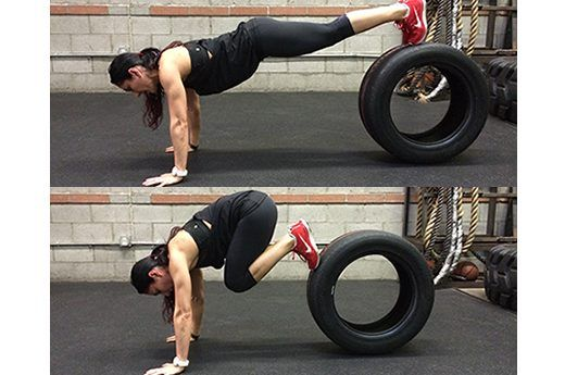 14 Muscle-Building Tire-Training Moves | Tired, Exercise ...