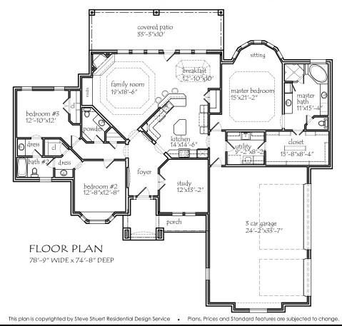 Best Floor Plans Images On Pinterest Architecture Dream - Floor plans for homes in texas 2