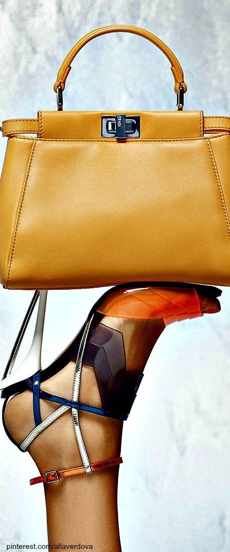 Agatha O | Fendi Spring Summer 2014 by Karl Lagerfeld | LBV ♥✤ | KeepSmiling | BeStayElegant