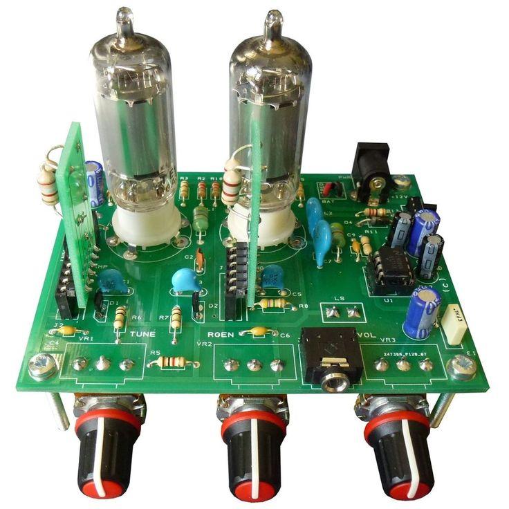 iGen Max Two Tube Regenerative Radio Kit with Varactor