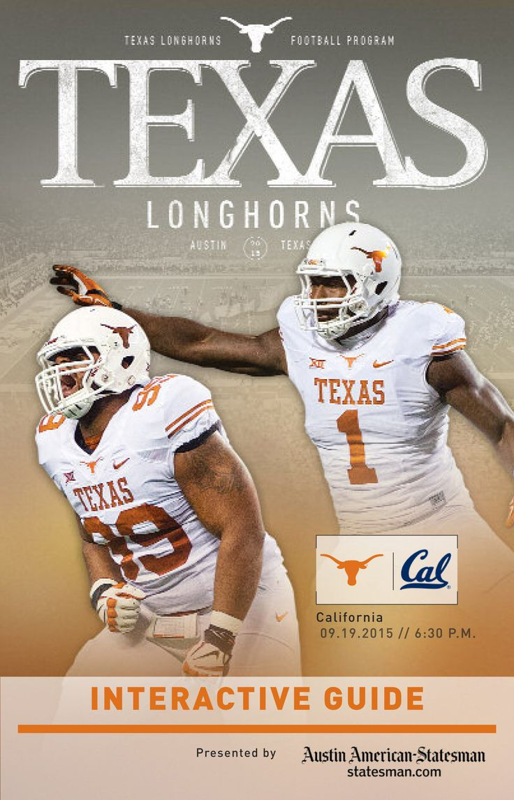Texas 44, California 45 [Sept. 19, 2015] featuring DT Desmond Jackson and DE Shiro Davis