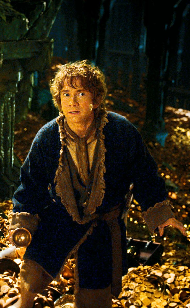 Bilbo Baggins, a Baggins of Bag End. #Hobbit #Bilbo #Smaug #Martin_Freeman
