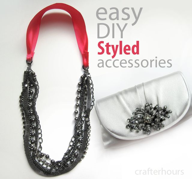 Styled by Tori - Easy DIY Jewelry - crafterhours
