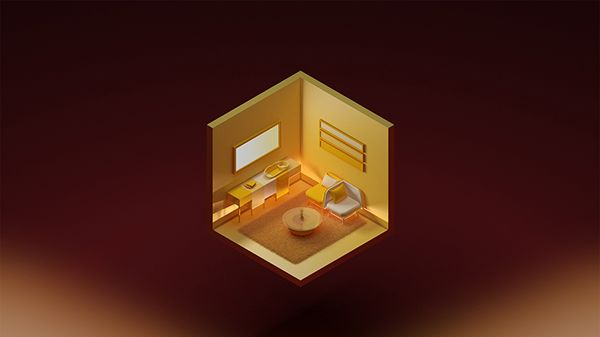 Isometric illustrations of different rooms in the flat or house. I created this illustrations for small article about modern living in the cities. I was really fun cause I gathered my inspiration from elements I saw in flats I have been in last few months…