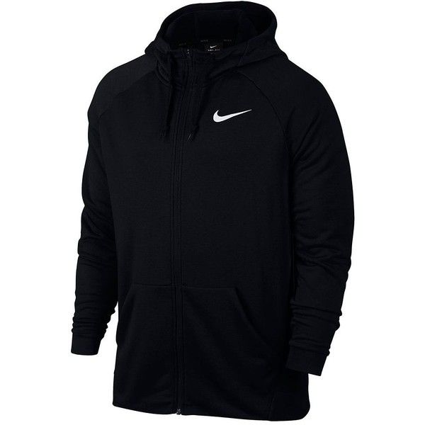 Men's Nike Dri-FIT Full-Zip Fleece Hoodie ($60) ❤ liked on Polyvore featuring men's fashion, men's clothing, men's hoodies, grey, mens hoodie, mens full zip hoodie, mens patterned hoodies, mens zip up hoodie and mens hooded sweatshirts