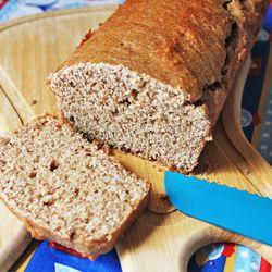 Pão integral no liquidificador