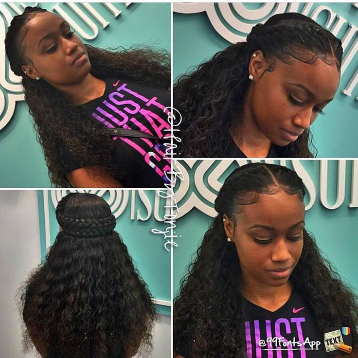 16 best Sew Ins images on Pinterest | Plaits, Curls and Hair weaves