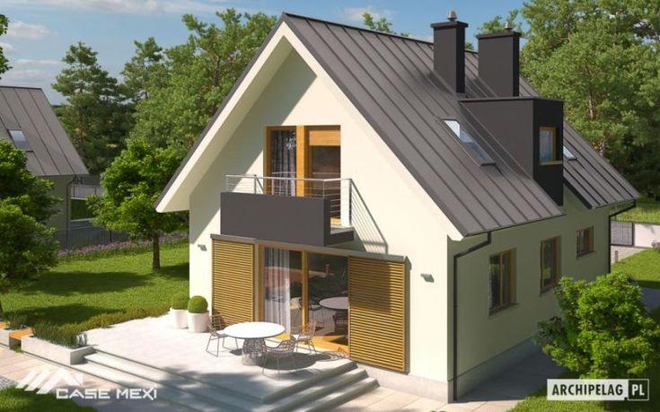 case cu mansarda si balcoane Houses with attic and balconies 2