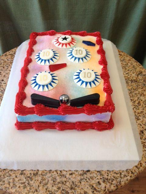 Pinball Cake Google Search Pinball Wizard Party Cake