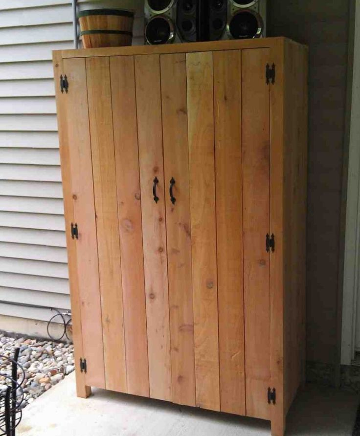 Outdoor Cabinet Doors Patio Storage Porch Storage