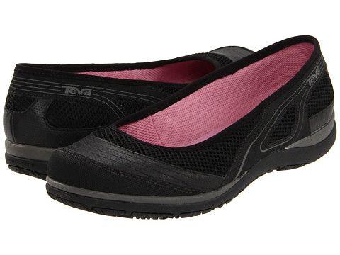 teva makena ballerina walking shoes black teva the best