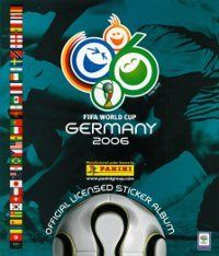 Panini World Cup 2006 Germany Album Cover