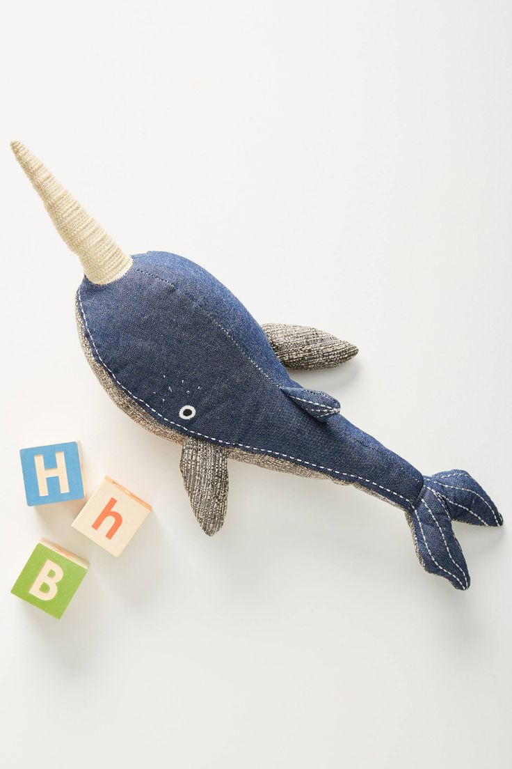 Norris the Narwhal Stuffed Animal The narwhal, Baby gifts