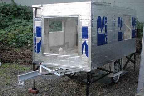 Bike Trailer Homes for Sale, Only $1950 O.B.O : TreeHugger