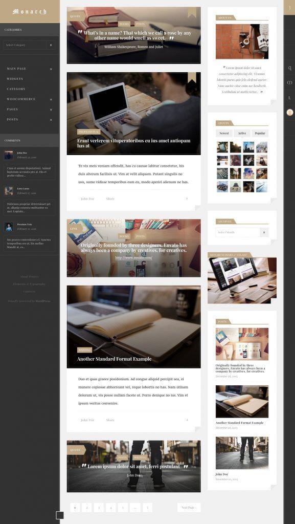 55 best premium wordpress themes images on Pinterest   Website ...