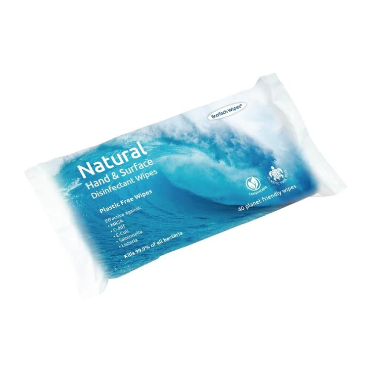 Ecotech Natural Disinfectant Hand And Surface Wipes 40 Pack Da300 Buy Online At Nisbets Disinfectant Ecotech In 2020 Surface Wipes Wipes Natural Disinfectant
