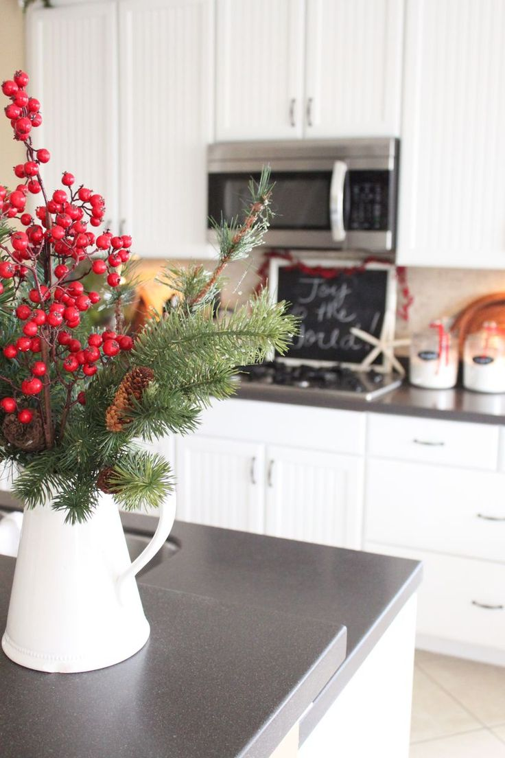 Today on Starfish Cottage- Christmas in the Kitchen! http://kristyseibert.com/blog/2014/12/starfish-cottage-kitchen-christmas-tour-2014.html