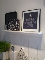 Love the words and LOVE that Marimekko tray.