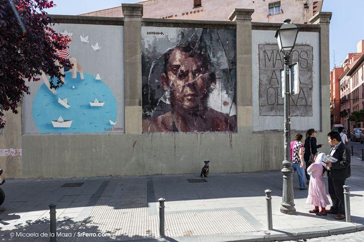 Un paseo por el mejor arte urbano en Madrid: Muros Tabacalera