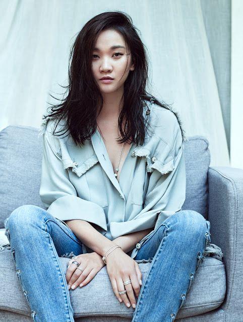 Jang Yoon Ju for Grazia Korea Aug 2015