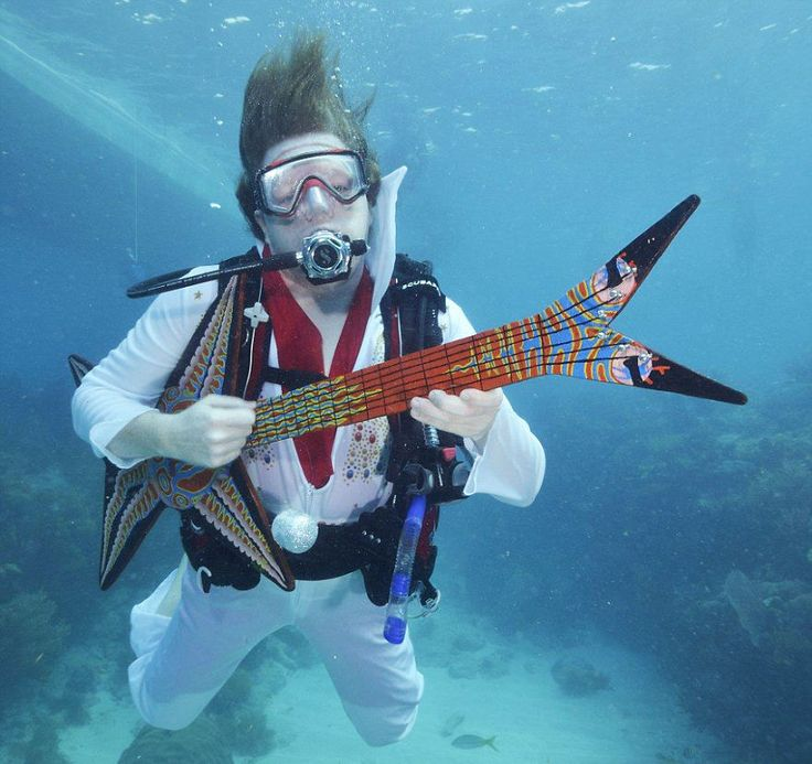 Underwater Music Festival In Florida Keys (USA)